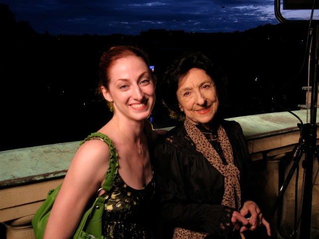 Christiana Bennett Ruud with the great Stuttgart Ballet Mistress and Choreologist Georgette Tsinguirdes