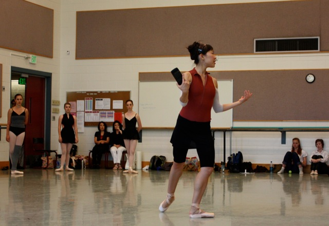 Romi Beppu teaches variations from Paquita.