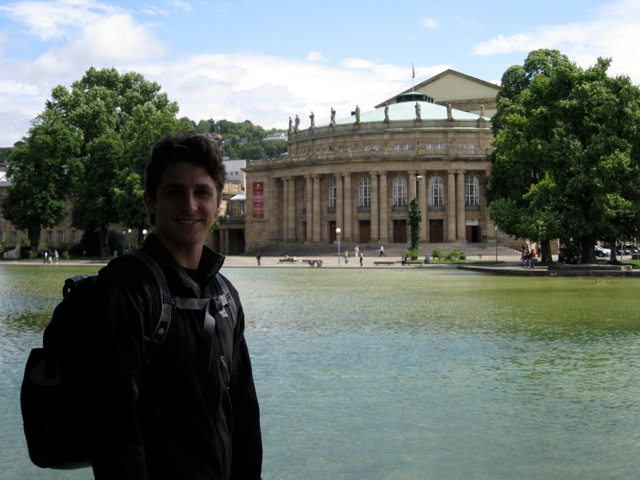 Christopher Ruud and the Stuttgart Opera House