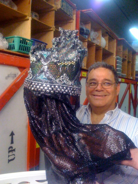 Director of Design David Heuvel shows us Von Rothbart's Act III headdress.