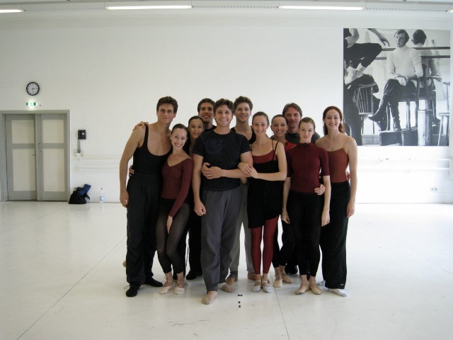 Christopher and Christiana with Artists of the Stuttgart Ballet