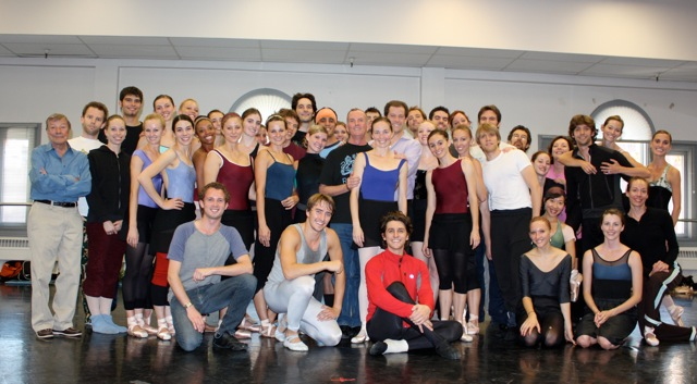 Christopher Carr with Ballet West