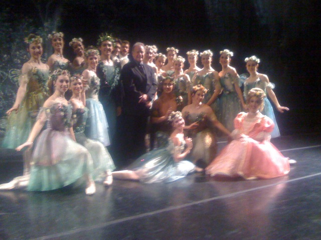 Sir Anthony Dowell with Artists of Ballet West