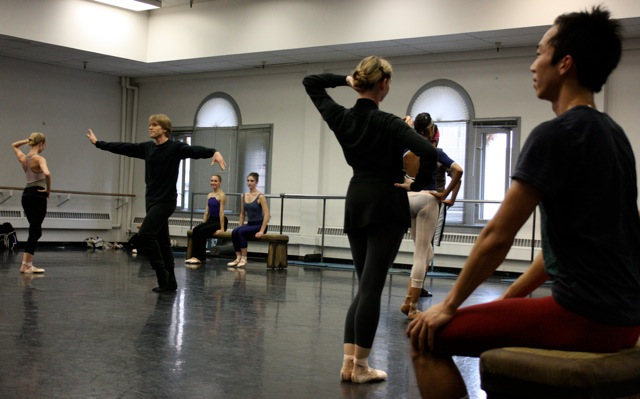 John Fraser with Artists of Ballet West