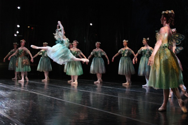 Sara Webb with Artists of Ballet West