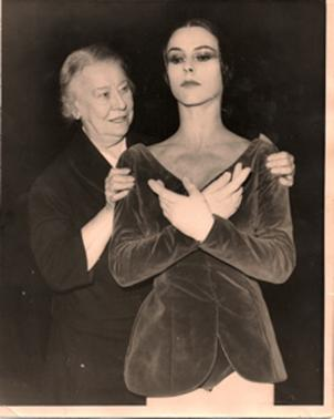 Bronislava Nijinska with Georgina Parkinson - LES BICHES