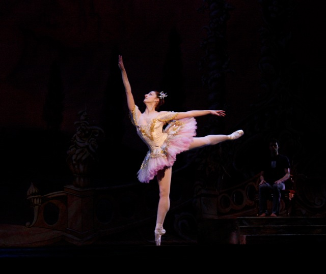 Christiana Bennett as the Sugar Plum Fairy
