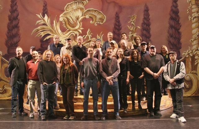 """Ballet West production staff and crew – Nutcracker 2009"""