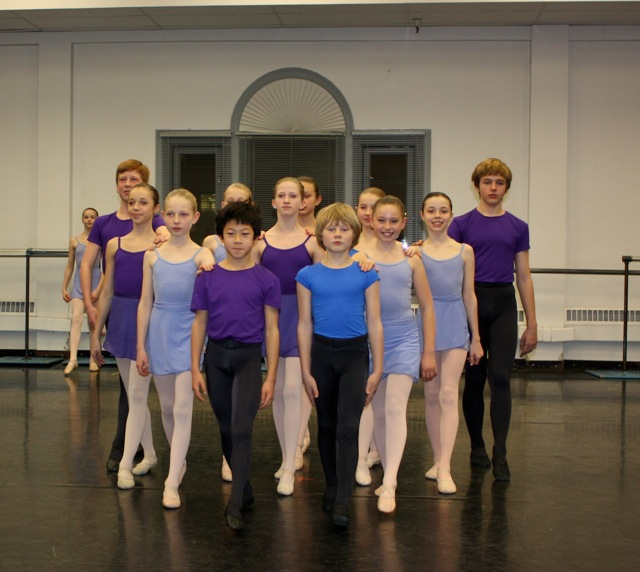 Children of Ballet West Academy in Act I Polonaise