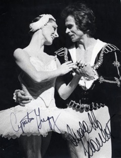 Cynthia Gregory and Rudolf Nureyev