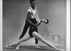 Diana Adams and Arthur Mitchell