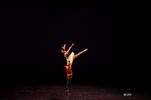 Annie Breneman and Thomas Mattingly in the pas de deux from Stars and Stripes