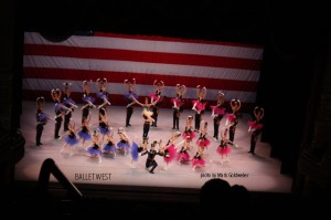 Artists of Ballet West in STARS and STRIPES