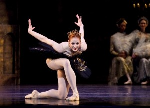 Christiana Bennett as Odile in Ballet West&#039;s SWAN LAKE - photo by Ryan Galbraith