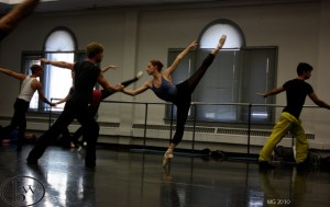 Christiana Bennett and Easton Smith in BOLERO