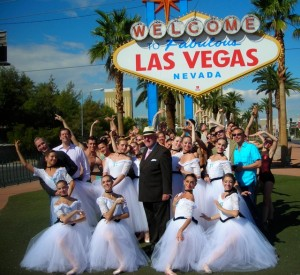 Company Artists, Directors and the Mayor of Las Vegas
