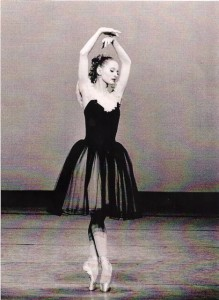 "Maria Calagari in  Balanchine's ""Mozartiana"""