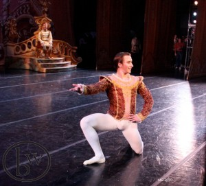 Christopher Sellars as the Sugar Plum Fairy's Cavaliere