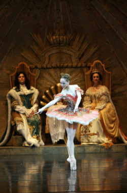 "Katherine Lawrence in ""The Sleeping Beauty."" Photo by Ryan Galbraith"